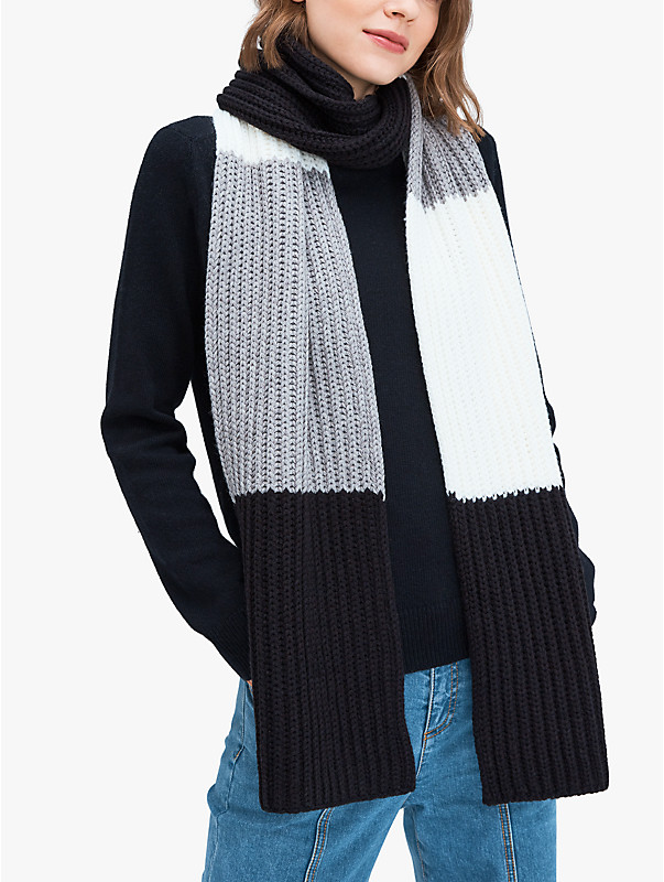 colorblock scarf, , rr_large