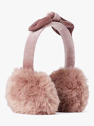 pointy bow earmuff by kate spade new york hover view