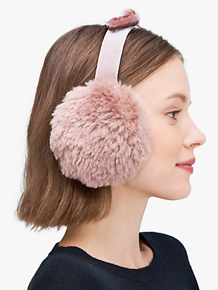pointy bow earmuff by kate spade new york non-hover view