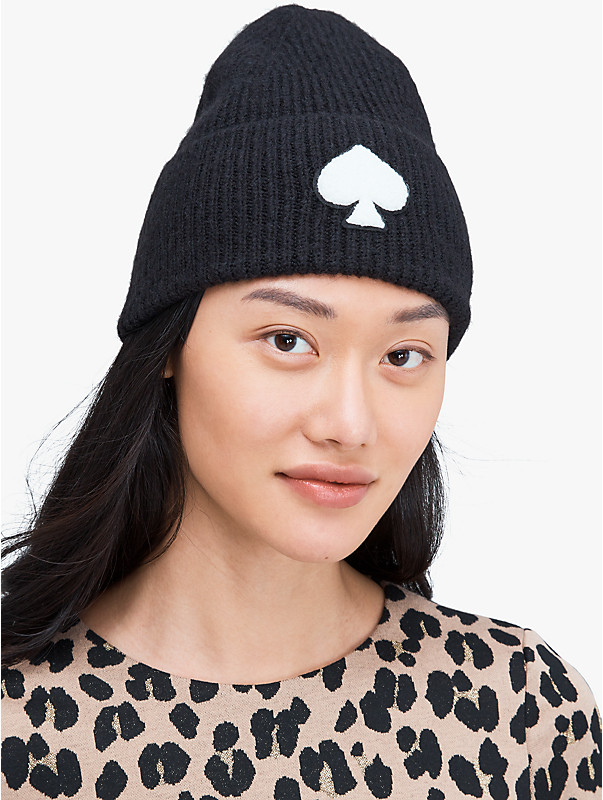recycled spade patch beanie, , rr_large