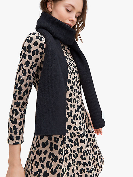recycled spade patch scarf by kate spade new york