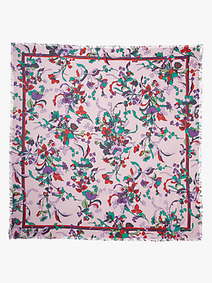 fleur nouveau square scarf by kate spade new york hover view