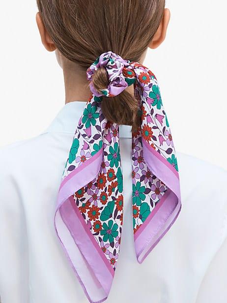 floral medley hair tie & bandana set by kate spade new york