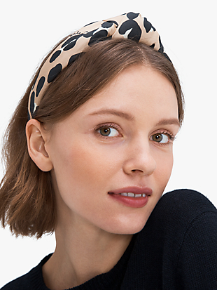 forest feline headband by kate spade new york hover view