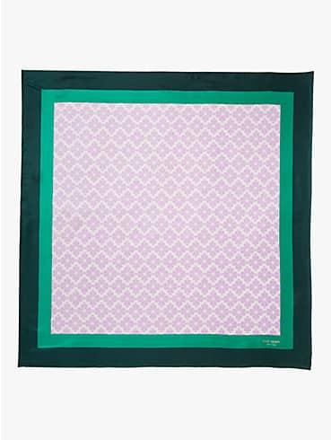 spade flower silk square, , rr_productgrid