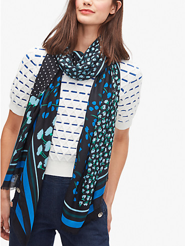 sea breeze patchwork oblong scarf, , rr_productgrid