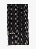 pin dot stripe oblong scarf, , s7productThumbnail