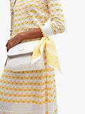asymmetric check cotton-silk bandana, , s7productThumbnail