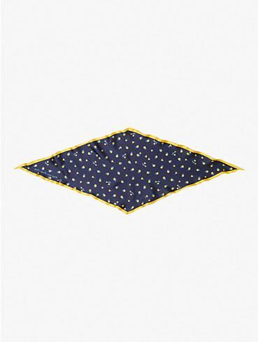 garden ditsy silk diamond scarf, , rr_productgrid