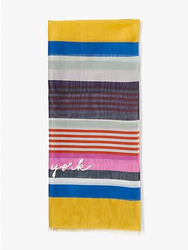 oceanside stripe oblong scarf, , rr_productgrid