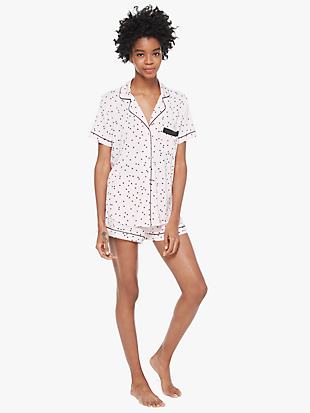 short pj set by kate spade new york non-hover view