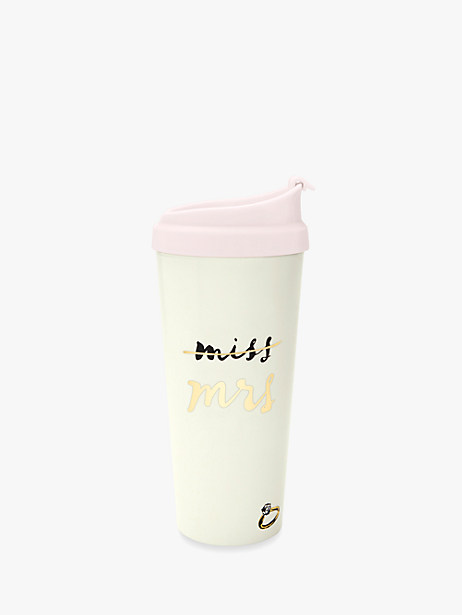 """miss to mrs"" thermal mug by kate spade new york"