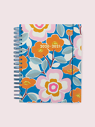 pop floral mega 17-month planner by kate spade new york non-hover view