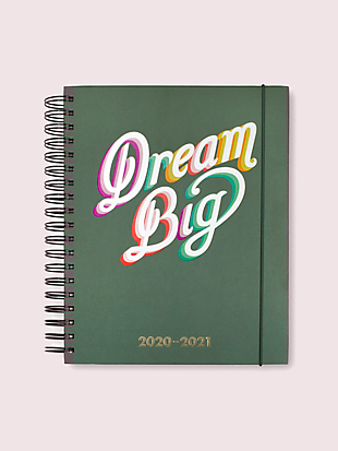 dream big mega 17-month planner by kate spade new york non-hover view