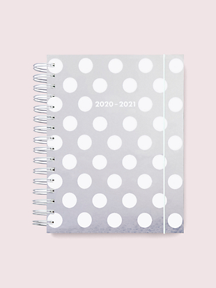 jumbo dot clear large 17-month planner by kate spade new york non-hover view