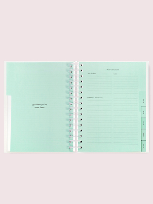 jumbo dot clear large 17-month planner by kate spade new york hover view