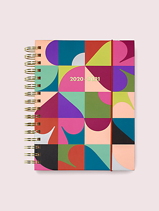 spade dot geo large 17-month planner by kate spade new york non-hover view