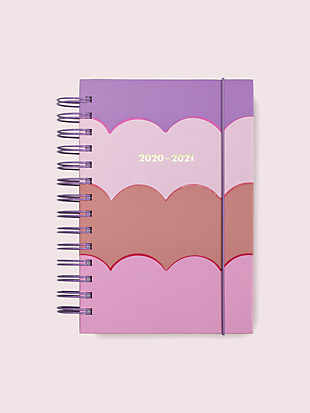 scallop medium 17-month planner by kate spade new york non-hover view