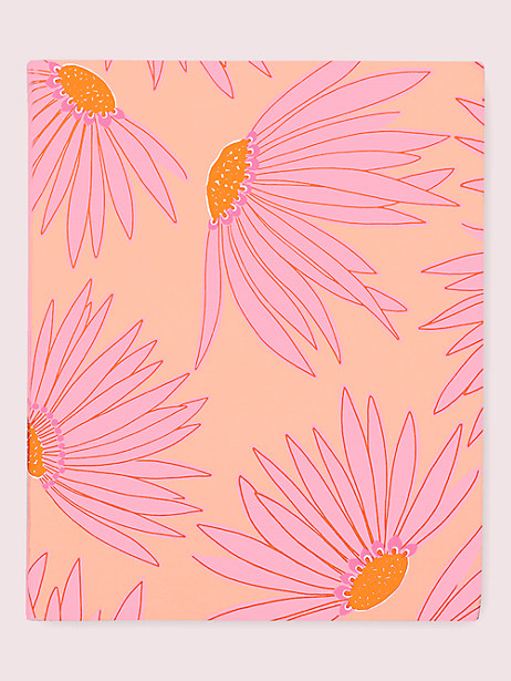 falling flower concealed-spiral notebook by kate spade new york