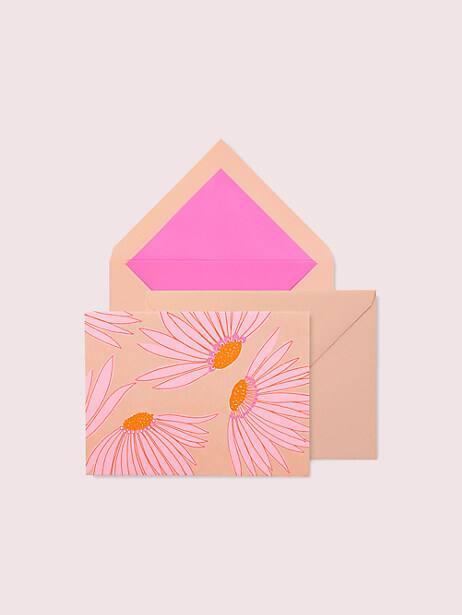 falling flower notecard set by kate spade new york