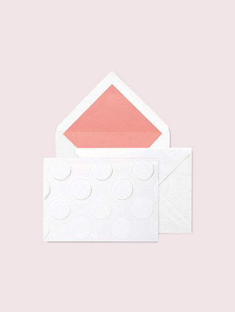 jumbo dot notecard set by kate spade new york