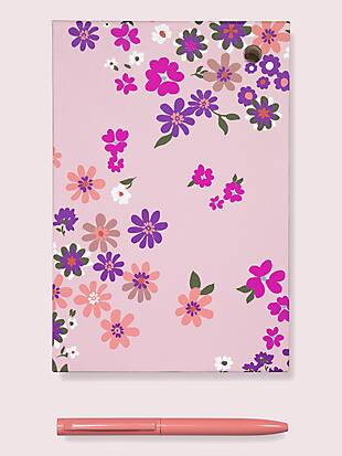 pacific petals loose note holder & pen by kate spade new york non-hover view