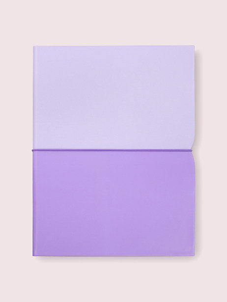 lilac plunge notepad folio by kate spade new york