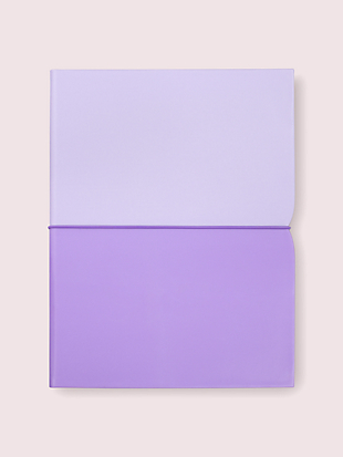 lilac plunge notepad folio by kate spade new york non-hover view