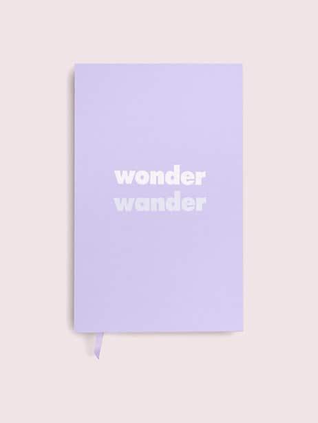 wonder wander journal  by kate spade new york