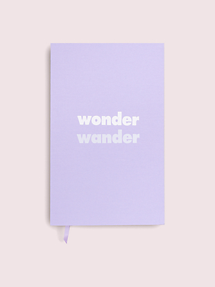 wonder wander journal  by kate spade new york non-hover view