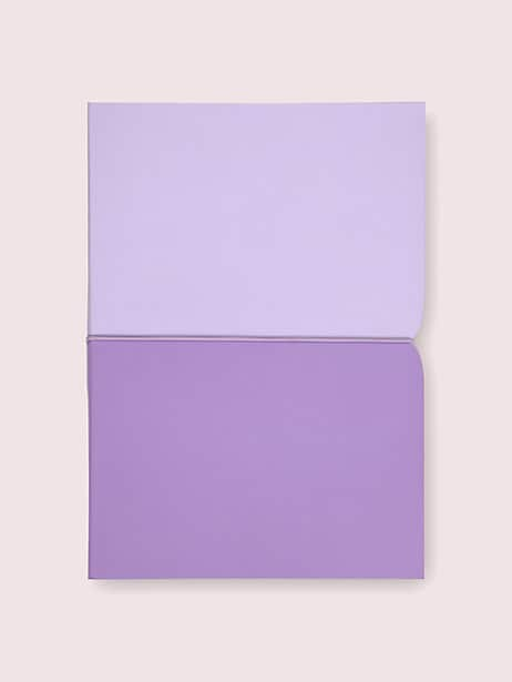 lilac plunge notebook by kate spade new york