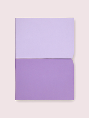 lilac plunge notebook by kate spade new york non-hover view