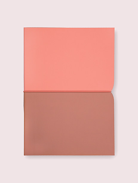 pink plunge notebook by kate spade new york