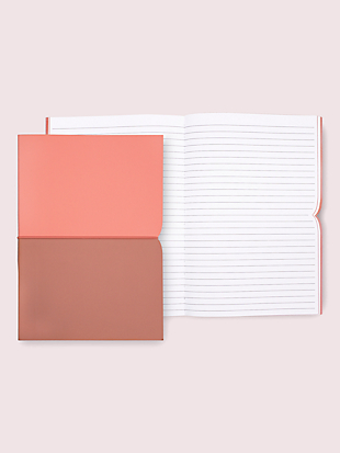 pink plunge notebook by kate spade new york hover view