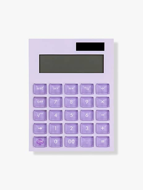 colorblock calculator by kate spade new york