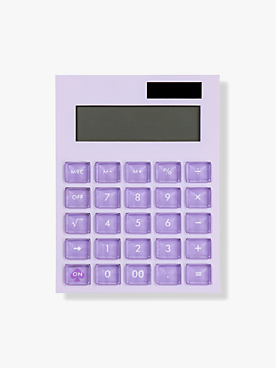 colorblock calculator by kate spade new york hover view