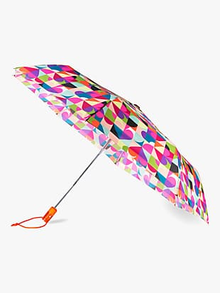 spade dot geo travel umbrella by kate spade new york non-hover view