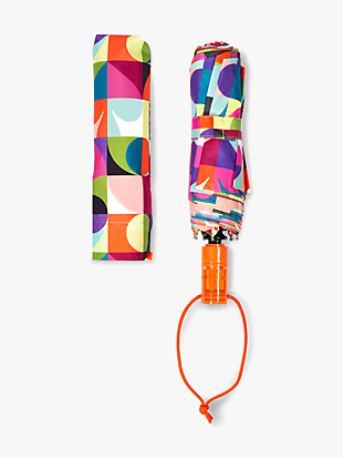 spade dot geo travel umbrella by kate spade new york hover view