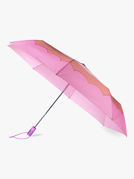 scallop travel umbrella by kate spade new york