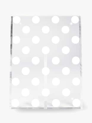 white dot picture frame by kate spade new york non-hover view
