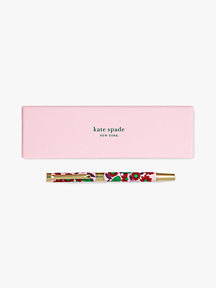 floral medley ballpoint pen by kate spade new york non-hover view