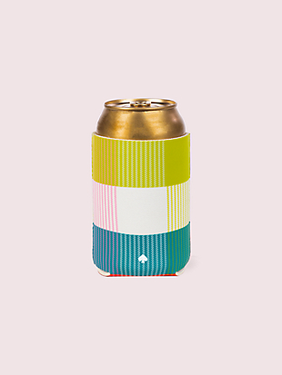 rainbow plaid drink hugger by kate spade new york non-hover view