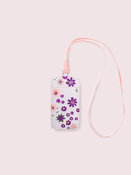 pacific petals i.d. holder by kate spade new york