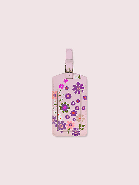 pacific petals luggage tag by kate spade new york