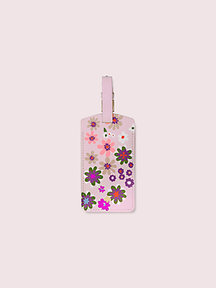 pacific petals luggage tag by kate spade new york hover view
