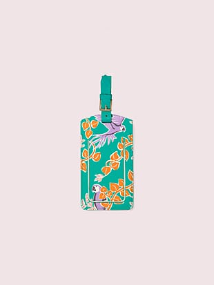bird party luggage tag by kate spade new york non-hover view