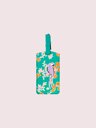 bird party luggage tag by kate spade new york hover view