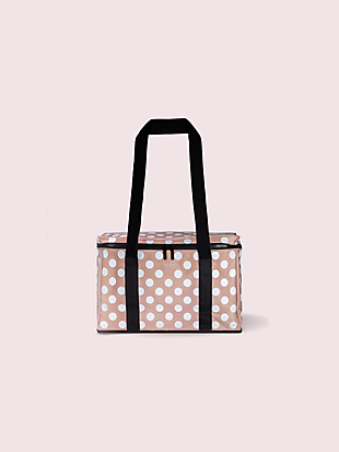 jumbo dot cooler bag by kate spade new york non-hover view