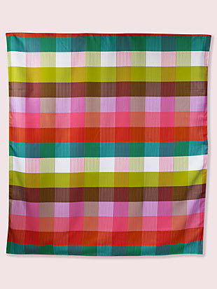 rainbow plaid picnic blanket by kate spade new york non-hover view