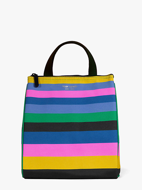enchanted stripe lunch bag by kate spade new york